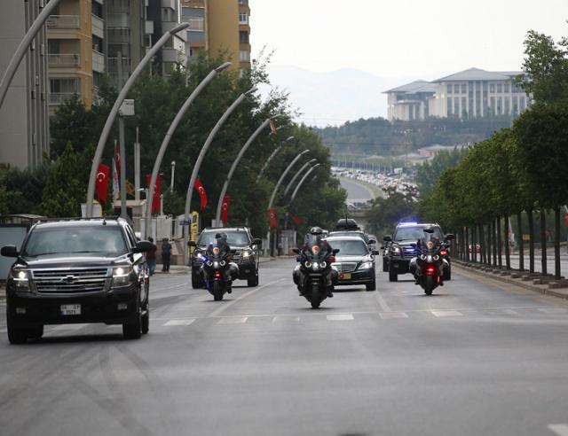 Cumhurbaşkanlığı Hükümet Sistemi'nin ilk Cumhurbaşkanı Recep Tayyip Erdoğan, TBMM Genel Kurulunda yemin etmek üzere Meclise geldi.