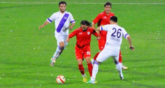 Orduspor-Samsunspor hazırlık maçı (1-2)