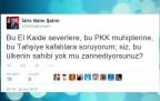 İdris Naim Şahin Twitter'dan bombaladı!