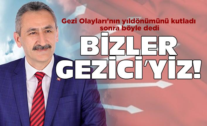 Bizler Gezi'ciyiz, geçici değiliz dedi