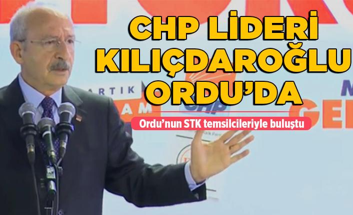 CHP Lideri Kılıçdaroğlu Ordu'da