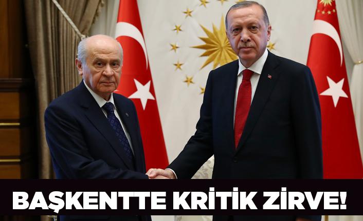 Erdoğan-Bahçeli arasında kritik görüşme