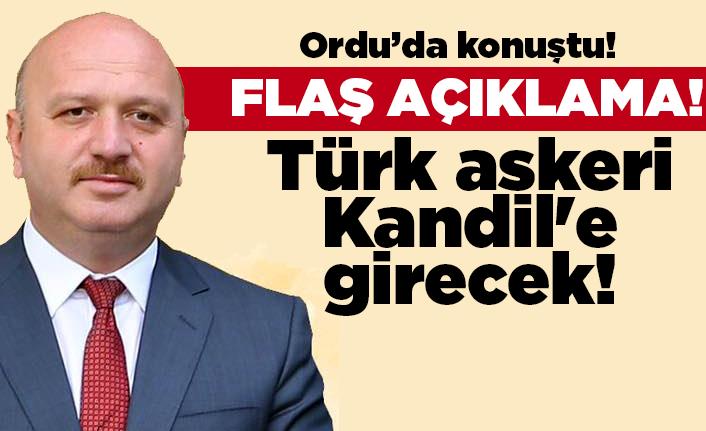 Türk askeri Kandil'e girecek!