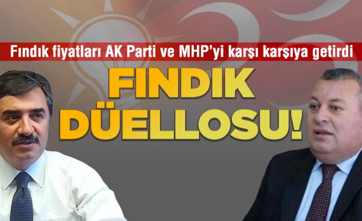 AK Parti-MHP arasında fındık düellosu!
