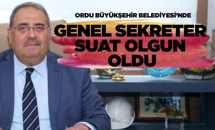 OBB'de Genel Sekreter Suat Olgun oldu