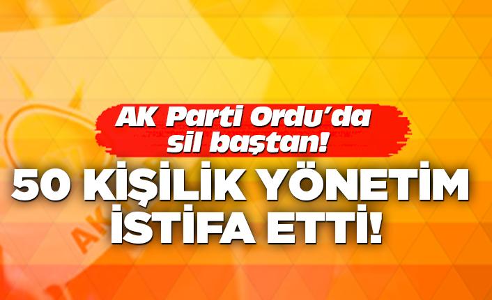 AK Parti'de 50 kişi istifa etti!