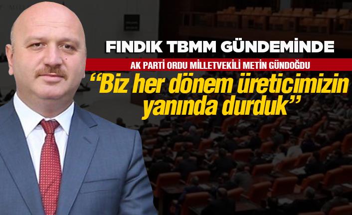 """AK Parti: """"Üreticinin yanında durduk"""""""