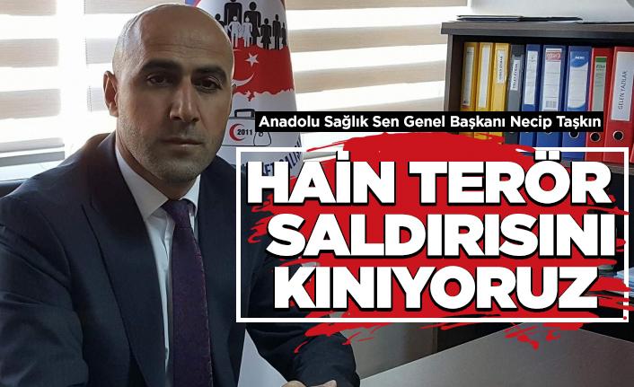 Anadolu Sağlık Sen'den kınama!