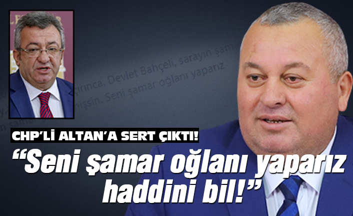 MHP'li Enginyurt CHP'li Altan'a çok sert çıktı!