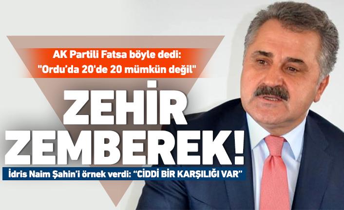 AK Partili Eyüp Fatsa'dan flaş açıklamalar!