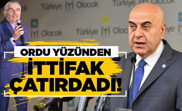 Ordu yüzünden CHP-İyi Parti ittifakı çatırdadı!