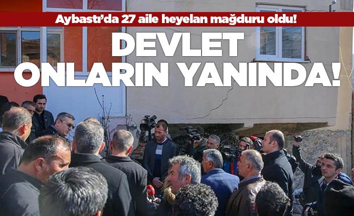 Aybastı'da 17 binada 27 aile mağdur oldu!