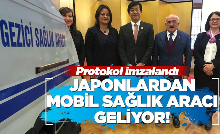 Japonlar'dan Mobil Sağlık Aracı geliyor