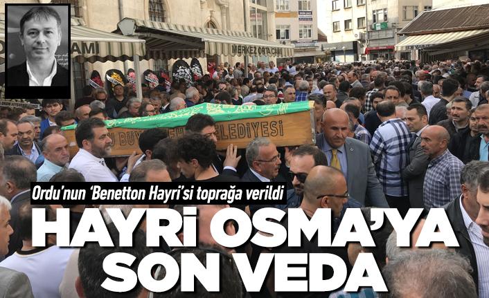 Ordu'nun 'Benetton Hayri'sine son veda!