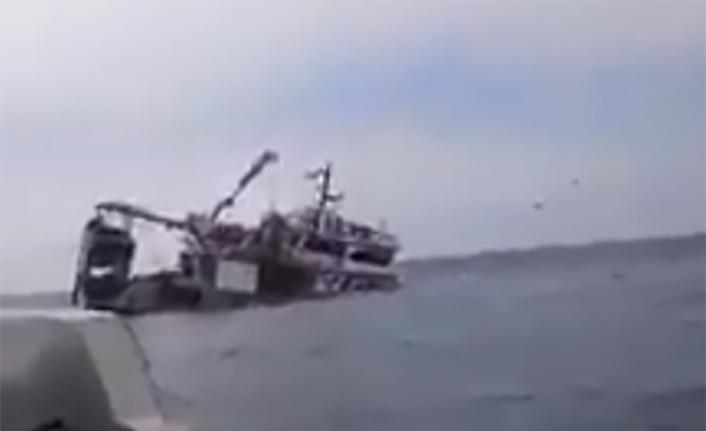 Fatsalı balıkçılar ölümden döndü