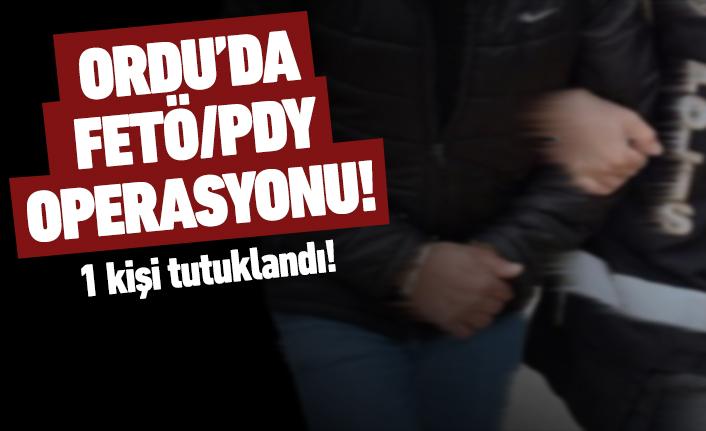 FETÖ/PDY'den 1 kişi tutuklandı!