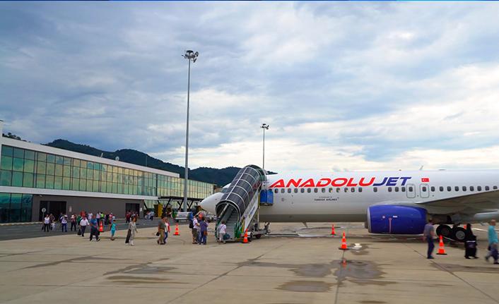 Ordu-Giresun bölgenin en istikrarlı havalimanı