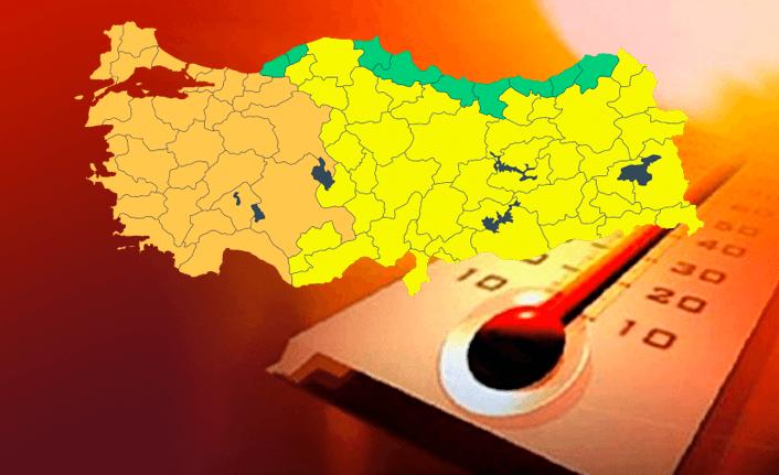 Türkiye'ye kavurucu sıcak uyarısı!