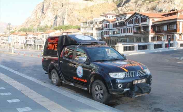 Amasya'dan selin vurduğu Giresun'a UMKE ekibi gönderildi