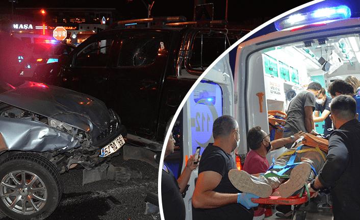 Ordu'da otomobille kamyonet çarpıştı 4 yaralı