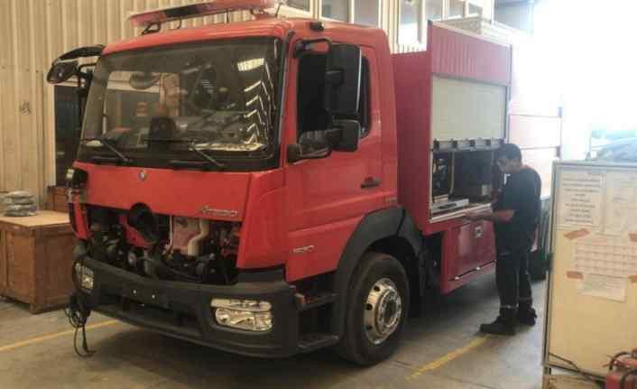 Düzce'de yeni itfaiye araçları hizmete hazır