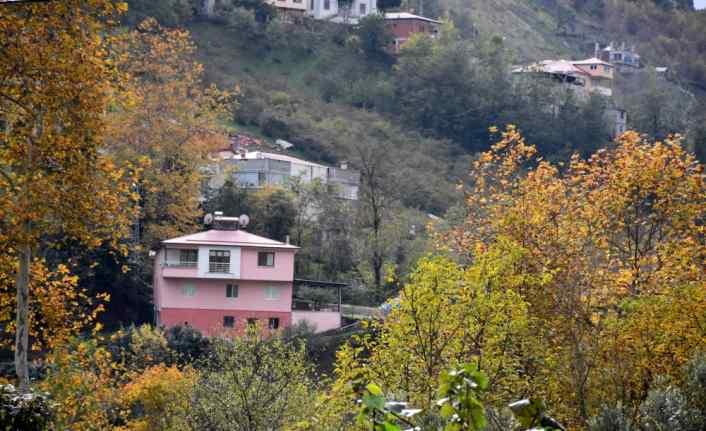 Trabzon'da sonbahar renkleri görsel şölen sunuyor