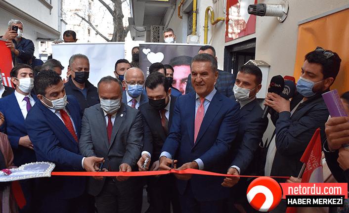 TDP Lideri Mustafa Sarıgül Ordu'ya geldi