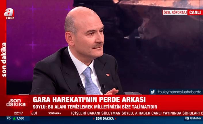 İçişleri Bakanı Soylu'dan flaş açıklamalar!