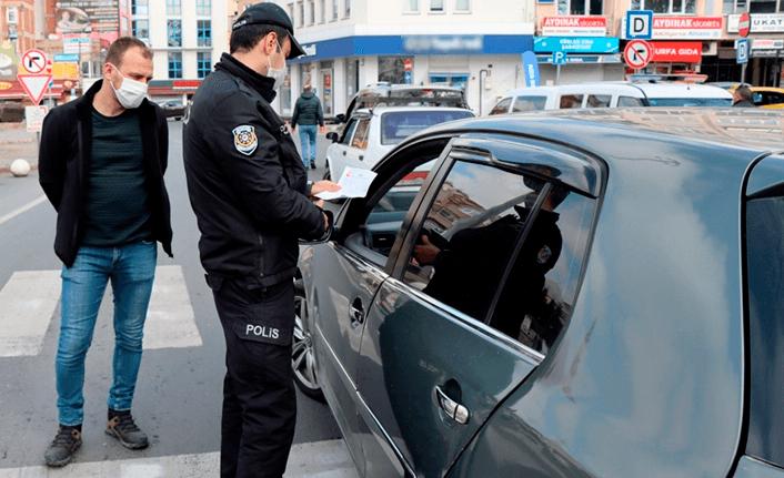 Kısıtlamaları ihlal eden 25 bin 372 kişiye ceza