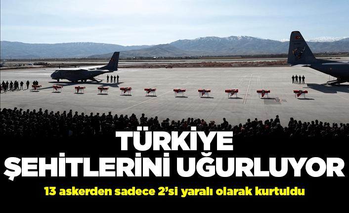 Tüm Türkiye Bitlis şehitlerine ağlıyor