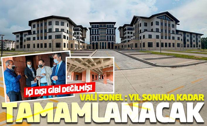 Yeni valilik binası yıl sonu tamamlanıyor