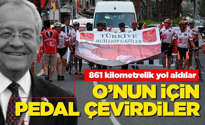 Şükrü Tandoğan için 861 km pedal çevirdiler