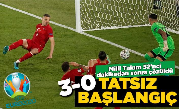 Türkiye EURO 2020 açılış maçında yenildi