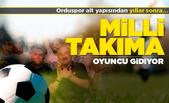 Orduspor'dan 2 isim Genç Milli Takım'a seçildi