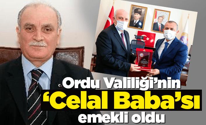 Valiliğin 'Celal Baba'sı Celal Eker emekliye ayrıldı