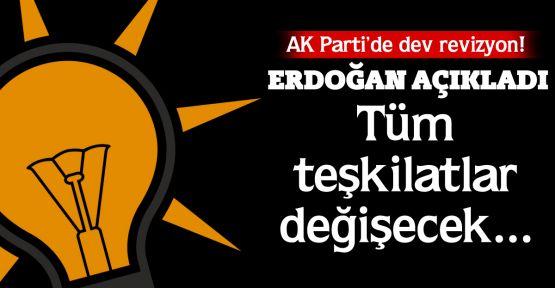 AK Parti'de dev revizyon!