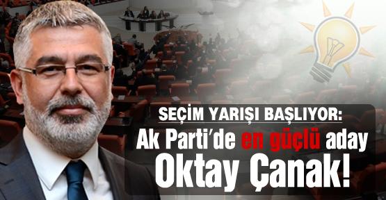Ak Parti'de en güçlü aday Oktay Çanak!