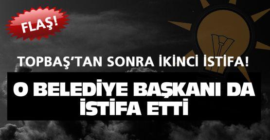AK Parti'de ikinci flaş istifa!