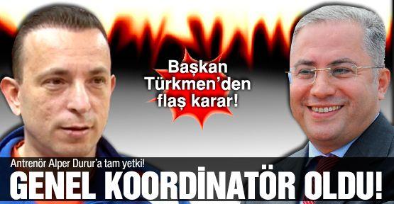 Alper Durur'a bir görev daha!