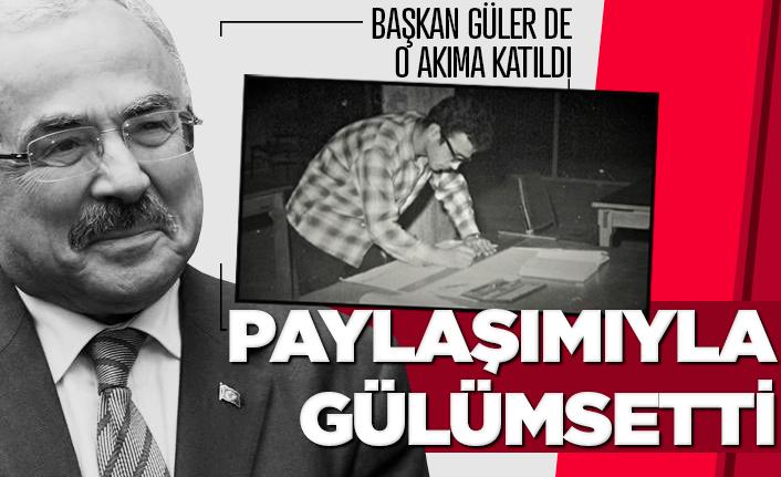 Başkan Güler sosyal medyadaki akıma katıldı