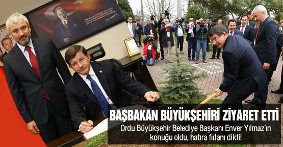 Başbakan Davutoğlu, Başkan Yılmaz'ın konuğu oldu!