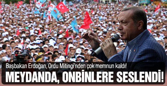 Başbakan Erdoğan, 13.kez Ordulularla buluştu!