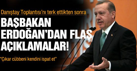 Başbakan Erdoğan:
