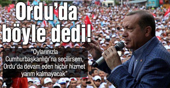 Başbakan Erdoğan'ın ilginç talebi!