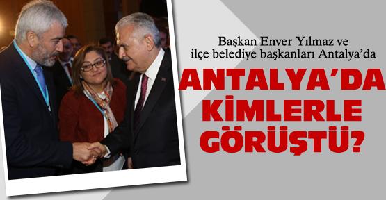 Başkan Enver Yılmaz, Başbakan Yıldırım'la buluştu!