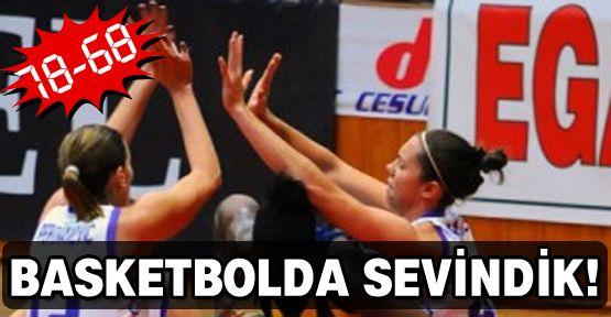 Basketbolda sevindik!