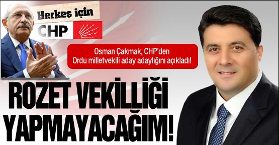 CHP'de en güçlü aday adayı Osman Çakmak!
