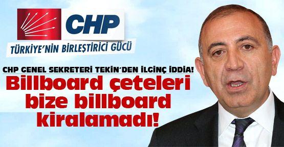 CHP'li Gürsel Tekin'den ilginç açıklama!