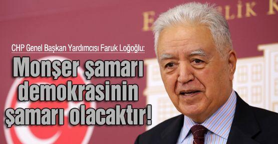 CHP'li Loğoğlu'dan 'şamar' benzetmesi