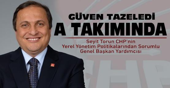 CHP'li Seyit Torun güven tazeledi